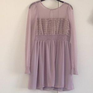 Free People laced vintage dress